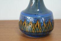 Keramik Bornholm / Pottery from Bornholm, Søholm and L. Hjorth.
