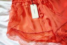 Orange Lingerie & Pyjama & Swimsuit