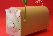 Piggy Mail Box