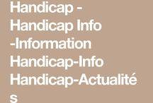 Handicap - Handicap Info - Information