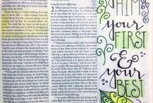 Bible Journaling - Leviticus