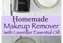Homemade makeup remover