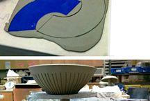 keramika - nádoby a mísy