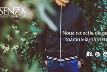 Colectia de geci si jachete toamna-iarna 2016 / Colectia de geci si jachete toamna-iarna 2016. Fall Winter 2016 jackets collection.