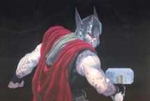 Thor / Thor is a fictional superhero that appears in American comic books published by Marvel Comics. The character, based on the Norse mythological deity of the same name, is the Asgardian god of thunder and possesses the enchanted hammer Mjolnir, which grants him the ability of flight and weather manipulation amongst his other superhuman attributes.