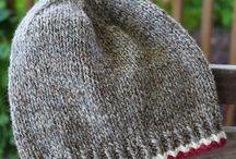 Chapéus de tricô