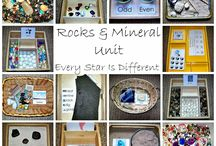 Rocks and minerals / by Emily Dalton