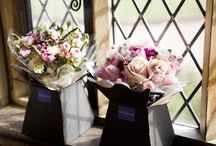 Spring Wedding Flowers and Bridal Bouquets / Eden Blooms Florist -  a selection of our Spring wedding flowers created for our brides - available January to April.