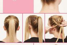 peinados de pelo recogido
