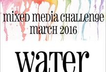 HLS March 2016 Mixed Media Challenge
