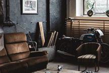 Industrial livingroom