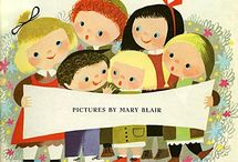 The art and flair that is Mary Blair / Mary Blair Art