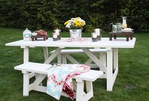 Outdoor Living / by Shelly@The Domestic Heart Blog