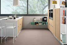 Ank / Lo stile senza maniglia per cucine e living da vivere con lo stile Ank di Creo Kitchens by Lube.