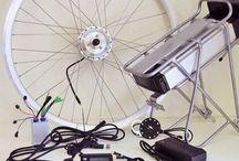 Ombouwsets elektrische fiets | eBike kit / Ombouwsets om een gewone fiets elektrisch te maken.