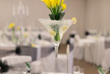 Winter Elegance / Combining lilies and diamonds, this decor creates a sophisticated wedding atmosphere.
