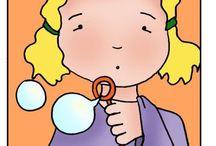 Obrázkové animované kartičky na různá témata / Další vzdělávací nástěnka - karty zobrazují různé předměty denní potřeby a mají mnohostranné využití.
