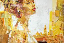 collage art  / by Yesenia Figueroa