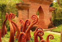 surreal garden