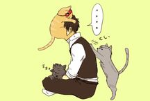 Gintama~ / Warning: GinHiji (GintokixHijikata) content.