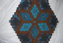 Quilt ideeën / Voorbeelden voor het makken van een quilt.