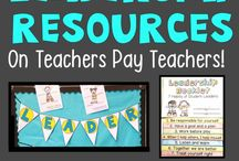 Leader in Me Classroom / Classroom decor, bulletin board ideas, materials, lessons, posters - everything that a Leadership (Leader in Me, 7 Habits) classroom needs - from lessons to decorations!