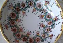 Ciotola /insalatiera/spaghettiera in ceramica.Dipinta a mano..Decoro Floris 20,00 € su misshobby.com