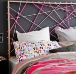 Bedroom DIY's / We all love to look at designer magazines for decor inspiration... but nobody wants to pay the prices of some of the pieces! We have the easy fix: DIY