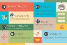 infographie conseils site web