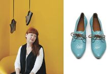 Portraits of Shoe Designer Tracey Neuls