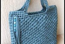 Bolso trapillo azul