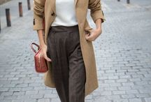 Earthy chic / Chic-semicasual smart every day look!