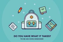 Blog Articles / Teaching how to make a steady income and build a career as an icon designer
