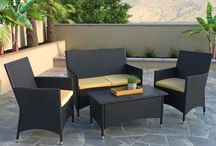 Patio Sets / Outdoor living done right. Relaxing outside never felt (or looked) this good.