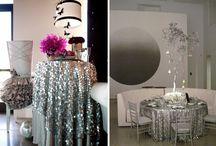 "Glitzy Wedding / by ""I Do""...Balloons, Weddings, & Events"