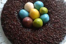 Osternest / Schokoladenbombe