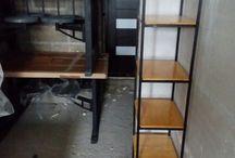 Лофт пространство. / Мебель в стиле лофт из массива и стали. Проектируем, производим и осуществляем монтаж. Дизайн интерьеров и мебели, брутальный и функциональные решения.