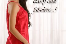 Valentine Special / Sleep dresses , satins , babydolls , robes , bold and beautiful , bras , briefs