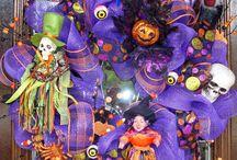 Halloween 2015 / Adornos para Halloween y día de muertos