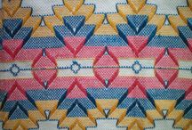 Swedish weaving and Huck weaving / Susan Cooksey adlı kullanıcıdan