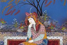 pointillisme persan