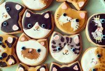 Cat themed baking