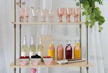 Bar Cart Decorating Ideas
