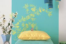 """Ideas for my headboard project! / I need a headboard, but it has to be cheap, easy to make and fit in with the """"design"""" (I use that term loosely) of my room!"""