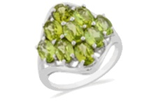 """August Birthstone - Perfect Peridot! / Did you Know?  Peridot is another one of Mother Nature's Miracles  it has an """"inner GLOW"""" naturally - so much of a Glow, in fact, that miners mine this stone IN THE DARK!  When they shine their lights - the stone GLOWS Peridot mining was traditionally done at night when the stone's natural glow is easier to see, the ancient Egyptians even believed that peridots became invisible under the sun's rays. Peridot is also in that very small percentile of Gemstones that are natural and untreated -"""