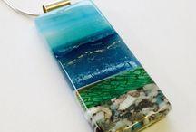 Fused Glass Jewelry / Jewellery