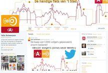 Velo op sociale media / Velo Antwerpen volgen via je favoriete sociale media