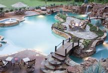 piscina e jardins