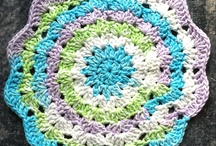 Crochet - dishcloths/potholders / by Vicki Loch Staggs