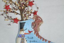 painted skate ideas / by (Country Lane Folk Art) Becky Levesque